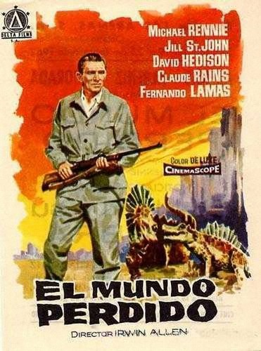 THE LOST WORLD(1960) FILM POSTER 6