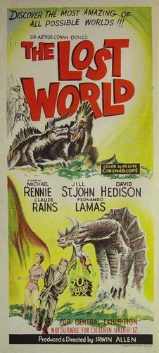 THE LOST WORLD(1960) FILM POSTER 7