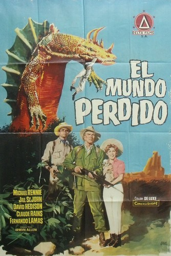 THE LOST WORLD(1960) FILM POSTER 8