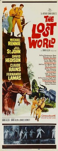 THE LOST WORLD(1960) FILM POSTER 9