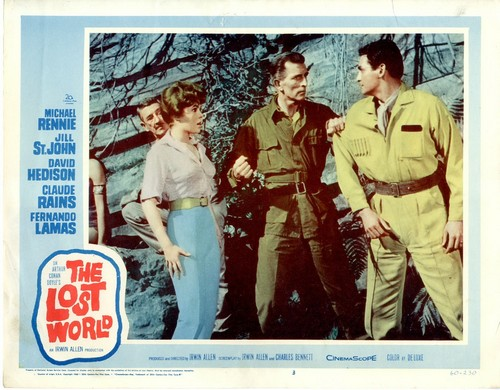 THE LOST WORLD(1960) LOBBY CARD 1