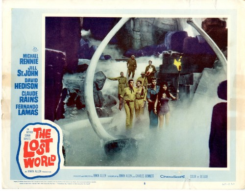 THE LOST WORLD(1960) LOBBY CARD 2