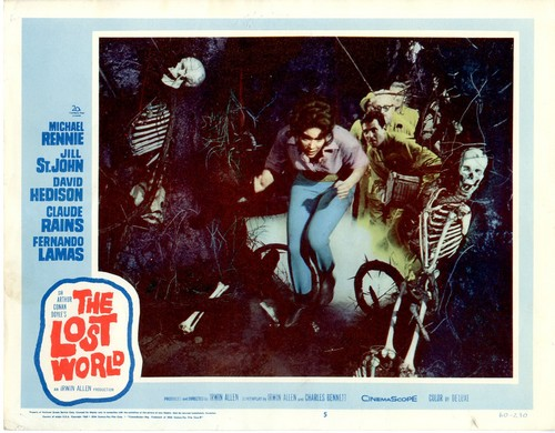 THE LOST WORLD(1960) LOBBY CARD 3