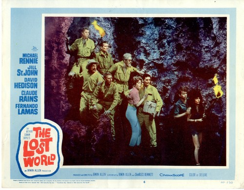 THE LOST WORLD(1960) LOBBY CARD 4