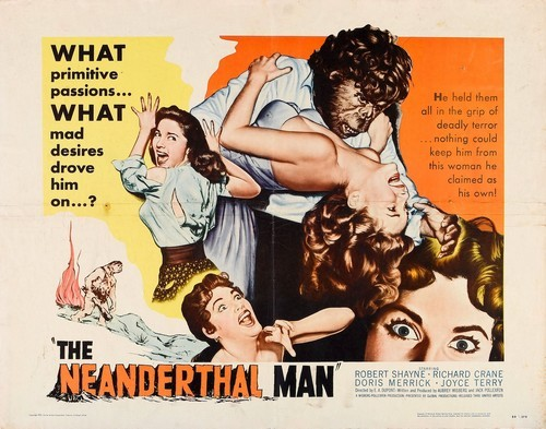 THE NEANDERTHAL MAN(1953) FILM POSTER 1