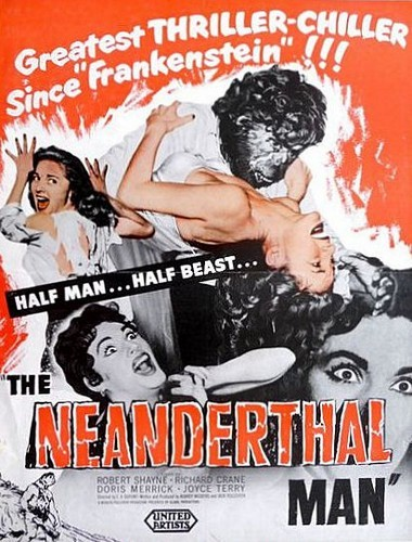 THE NEANDERTHAL MAN(1953) FILM POSTER 4