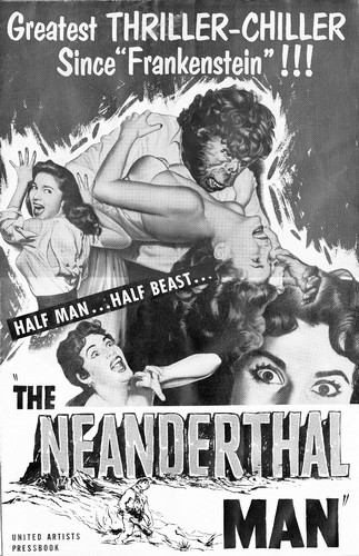 THE NEANDERTHAL MAN(1953) FILM POSTER 5