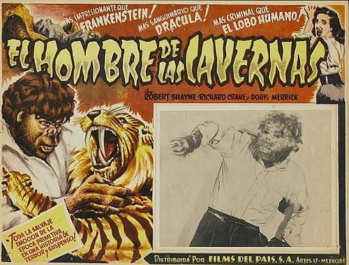 THE NEANDERTHAL MAN(1953) FILM POSTER 6