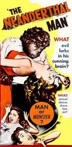 THE NEANDERTHAL MAN(1953) FILM POSTER 8