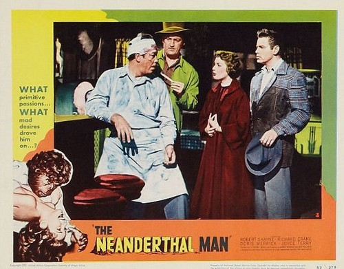 THE NEANDERTHAL MAN(1953) LOBBY CARD 2