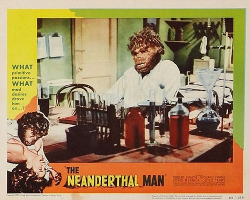 THE NEANDERTHAL MAN(1953) LOBBY CARD 3