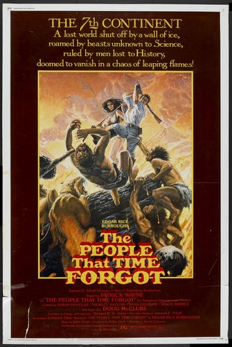 THE PEOPLE THAT TIME FORGOT(1977) FILM POSTER 1