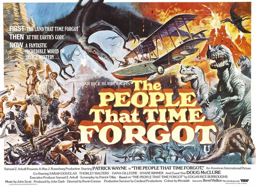 THE PEOPLE THAT TIME FORGOT(1977) FILM POSTER 2
