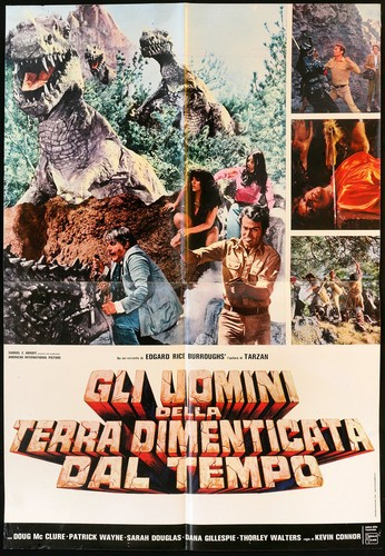 THE PEOPLE THAT TIME FORGOT(1977) FILM POSTER 4
