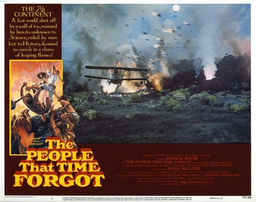 THE PEOPLE THAT TIME FORGOT(1977) LOBBY CARD 2