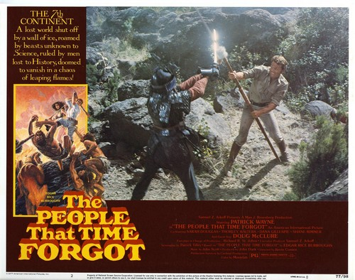 THE PEOPLE THAT TIME FORGOT(1977) LOBBY CARD 3