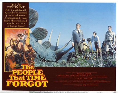 THE PEOPLE THAT TIME FORGOT(1977) LOBBY CARD 4