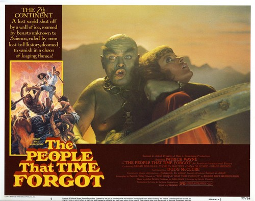 THE PEOPLE THAT TIME FORGOT(1977) LOBBY CARD 5