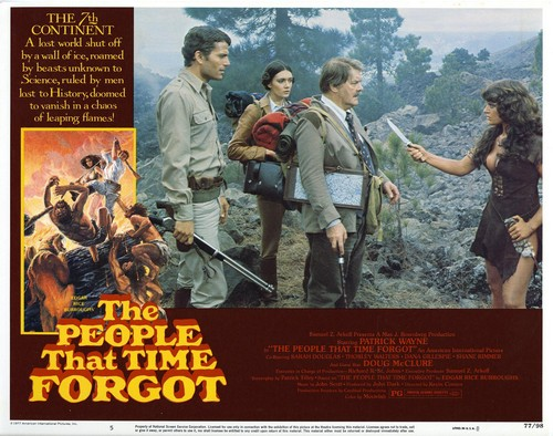 THE PEOPLE THAT TIME FORGOT(1977) LOBBY CARD 6
