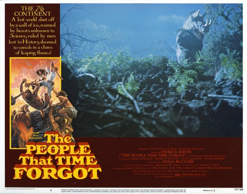 THE PEOPLE THAT TIME FORGOT(1977) LOBBY CARD 7