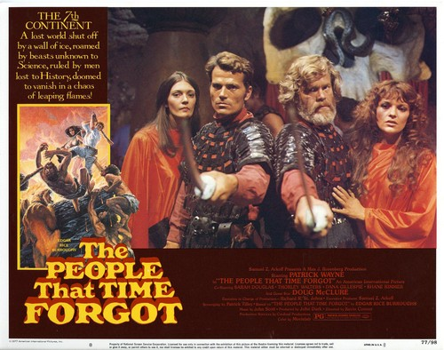 THE PEOPLE THAT TIME FORGOT(1977) LOBBY CARD 8