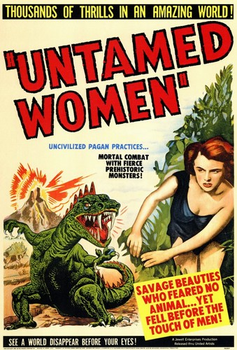 UNTAMED WOMEN FILM POSTER 1
