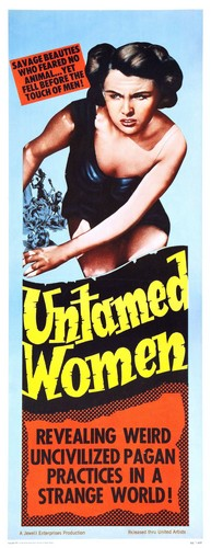 UNTAMED WOMEN FILM POSTER 3