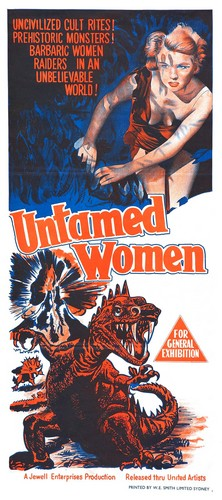 UNTAMED WOMEN FILM POSTER 4
