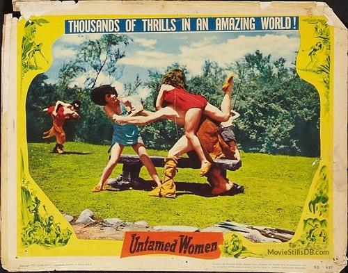 UNTAMED WOMEN LOBBY CARD 1