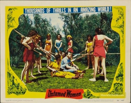 UNTAMED WOMEN LOBBY CARD 2