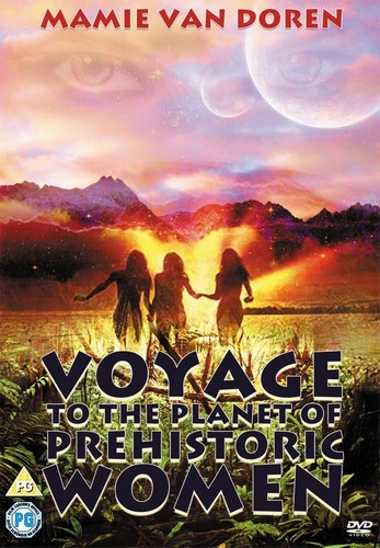 VOYAGE TO THE PLANET OF THE PREHISTORIC WOMEN(1968) DVD COVER 3