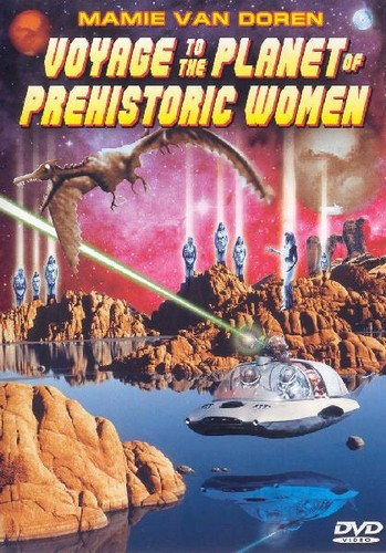 VOYAGE TO THE PLANET OF THE PREHISTORIC WOMEN(1968) DVD COVER