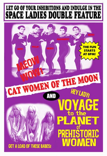 VOYAGE TO THE PLANET OF THE PREHISTORIC WOMEN(1968) FILM POSTER 4