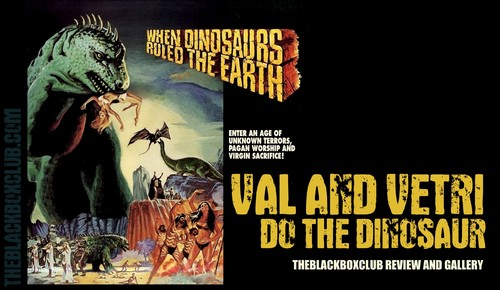 WHEN DINOSAURS RULED THE EARTH(1970) FILM POSTER 10