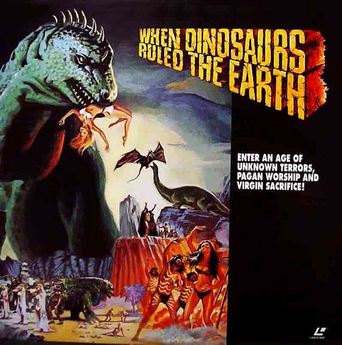 WHEN DINOSAURS RULED THE EARTH(1970) OST