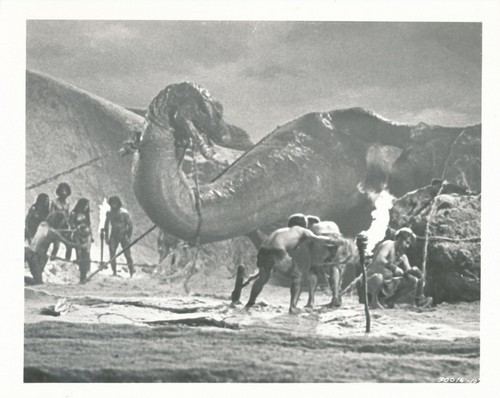 WHEN DINOSAURS RULED THE EARTH(1970) WINDOW CARD 16