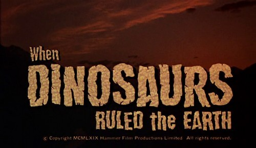 WHEN DINOSAURS RULED THE EARTH(1971)