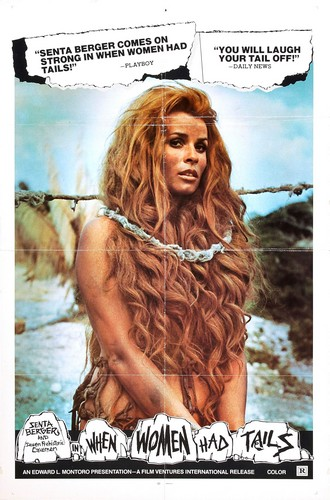 WHEN WOMEN HAD TAILS(1970) FILM POSTER 1