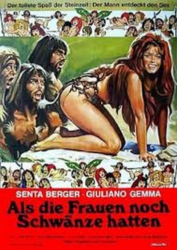 WHEN WOMEN HAD TAILS(1970) FILM POSTER 2