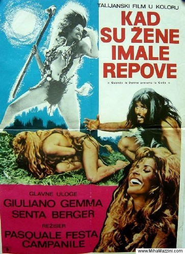 WHEN WOMEN HAD TAILS(1970) FILM POSTER 6
