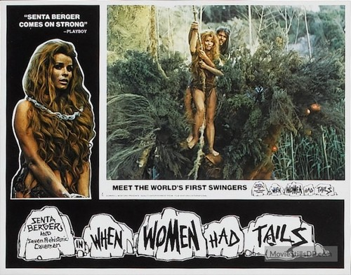 WHEN WOMEN HAD TAILS(1970) LOBBY CARD 2