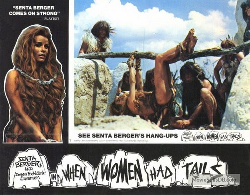 WHEN WOMEN HAD TAILS(1970) LOBBY CARD 3
