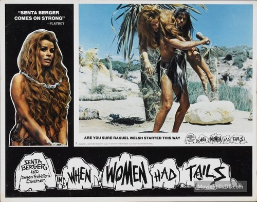 WHEN WOMEN HAD TAILS(1970) LOBBY CARD 4