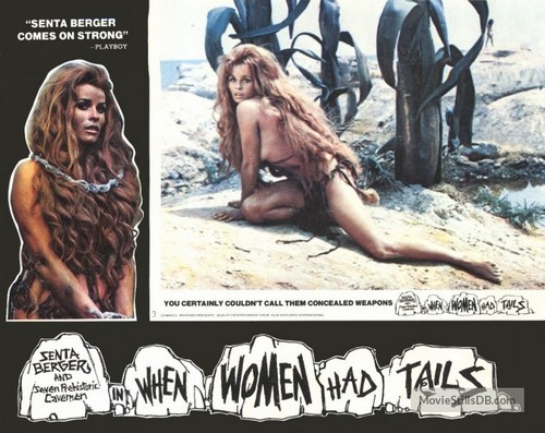 WHEN WOMEN HAD TAILS(1970) LOBBY CARD 5