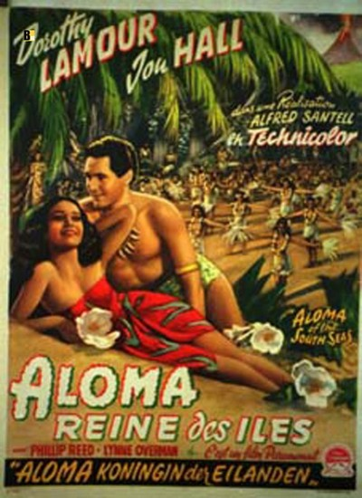 ALOMA OF THE SOUTH SEAS(1941) FILM POSTER 4