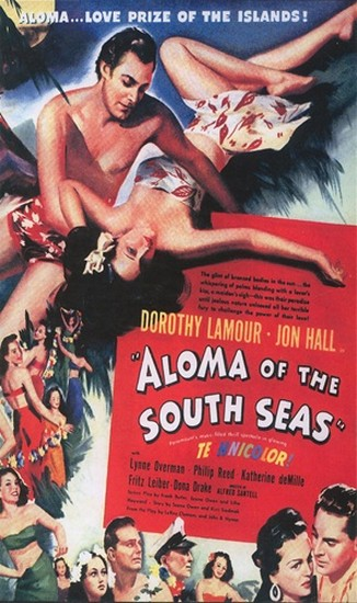ALOMA OF THE SOUTH SEAS(1941) FILM POSTER 7
