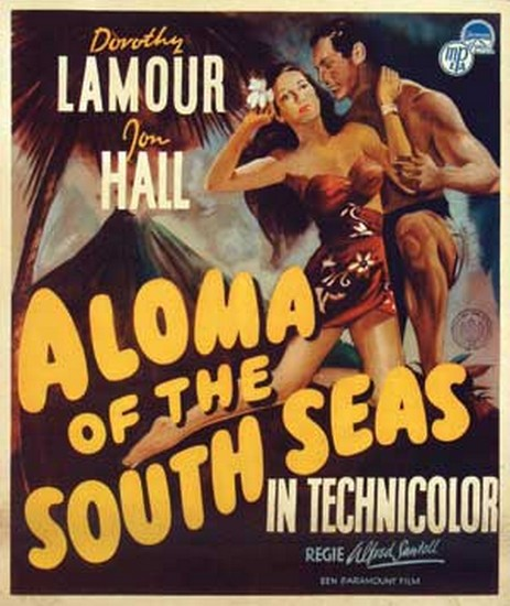 ALOMA OF THE SOUTH SEAS(1941) FILM POSTER 8