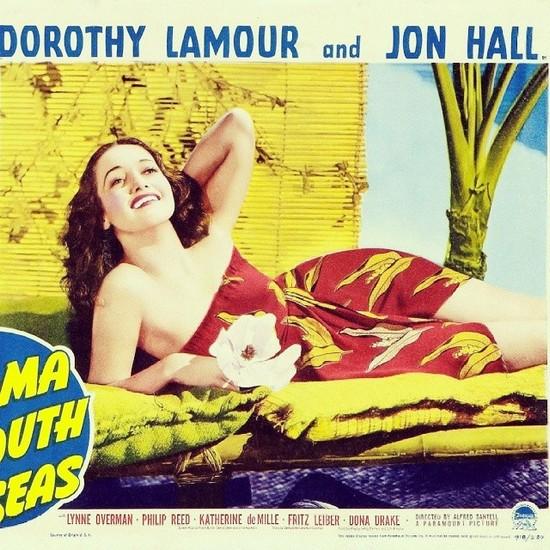 ALOMA OF THE SOUTH SEAS(1941) LOBBY CARD 6