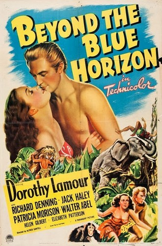 BEYOND THE BLUE HORIZON(1942) FILM POSTER 1