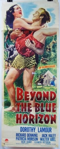 BEYOND THE BLUE HORIZON(1942) FILM POSTER 2
